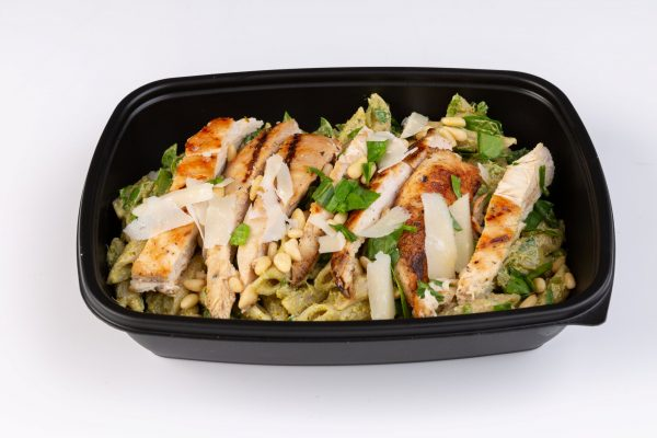 PREP - Chicken, spinach & pesto wholegrain pasta