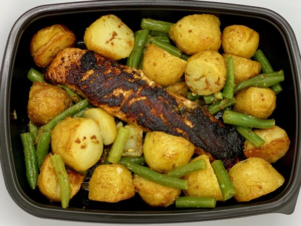 PREP - Balsamic salmon with new potatoes and green beans