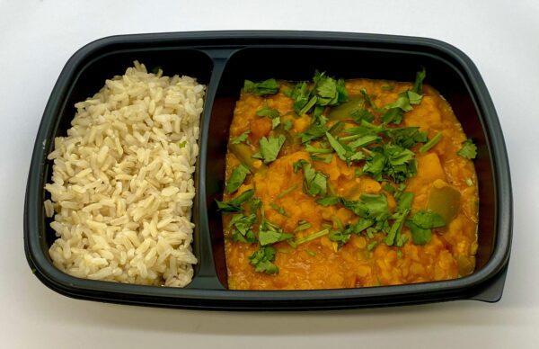 PREP Vegan Lentil and vegetable Curry