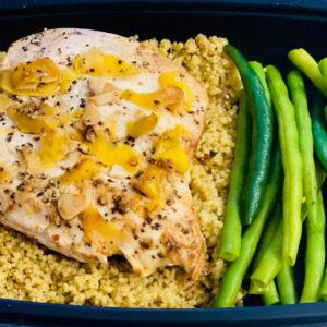 Prep - Lemon chicken with Couscous