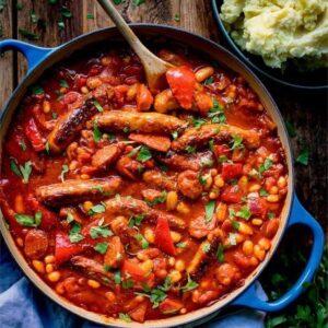 Prep Chicken Sausage Casserole